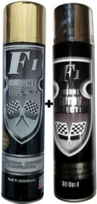 F1 GOLD & CHROME Spray Paint 300 ml
