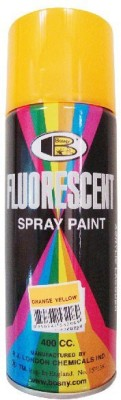 Bosny Blazon Fluorescent Orange Yellow Red Spray Paint 300 ml