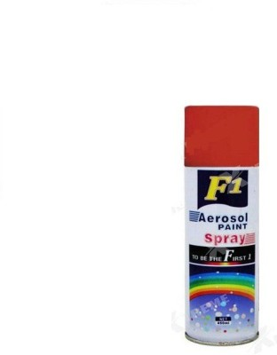 F1 Red Spray Paint 450 ml(Pack of 1)