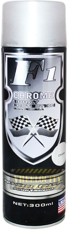 F1 Chrome Spray Paint 300 ml(Pack of 1)