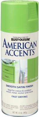 Rust-Oleum American Accents Green Apple Spray Paint 340 ml
