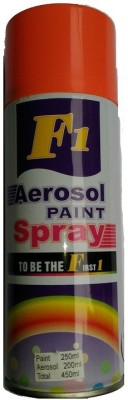 F1 Just Spray Paint Florocent Orange Spray Paint 400 ml