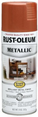 Rust-Oleum Stops Rust Metallic Copper Spray Paint 312 ml