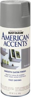 Rust-Oleum American Accents Stone Gray Spray Paint 340 ml