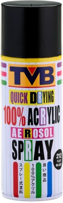 TVB 212 Black Matt Spray Paint 400 ml