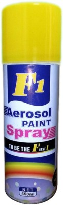 F1 Yellow Spray Paint 450 ml