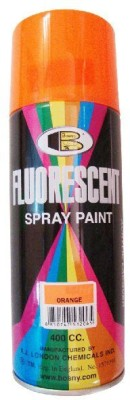 Bosny Blazon Fluorescent Orange Red Spray Paint 300 ml