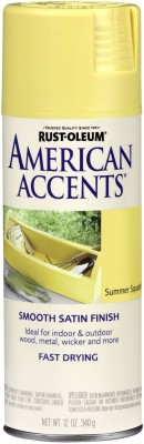 Rust-Oleum American Accents Summer Squash Spray Paint 340 ml