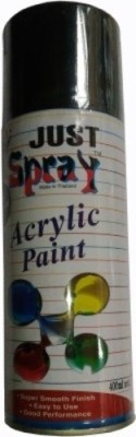 Just Spray FLAT (MATT) BLACK Spray Paint 400 ml