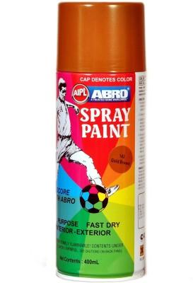 Abro Premium Gold Brown Spray Paint 400 ml