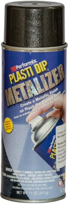 Performix Plasti Dip Multi Purpose Rubber Coating Graphite Pearl Metalizer Spray Paint 325 ml