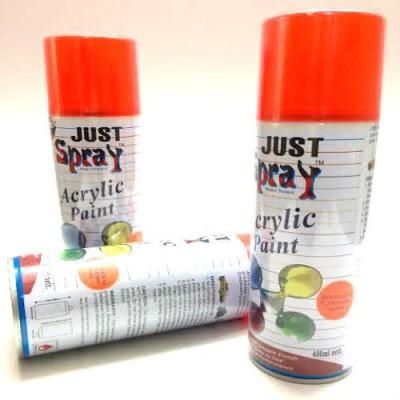 KUBER STORES Orange Spray Paint 400 ml
