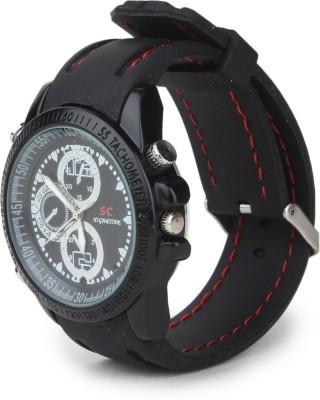 View Spycloud Stylish Leather Wrist Watch Sporty Look Spy Camera Camera Price Online(Spycloud)