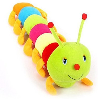kts khalsa toys and sales Cute Colorful Caterpillar Soft Toy(Multicolor)