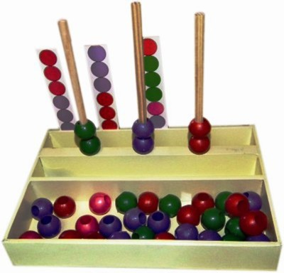 Kinder Creative Color Pattern Box