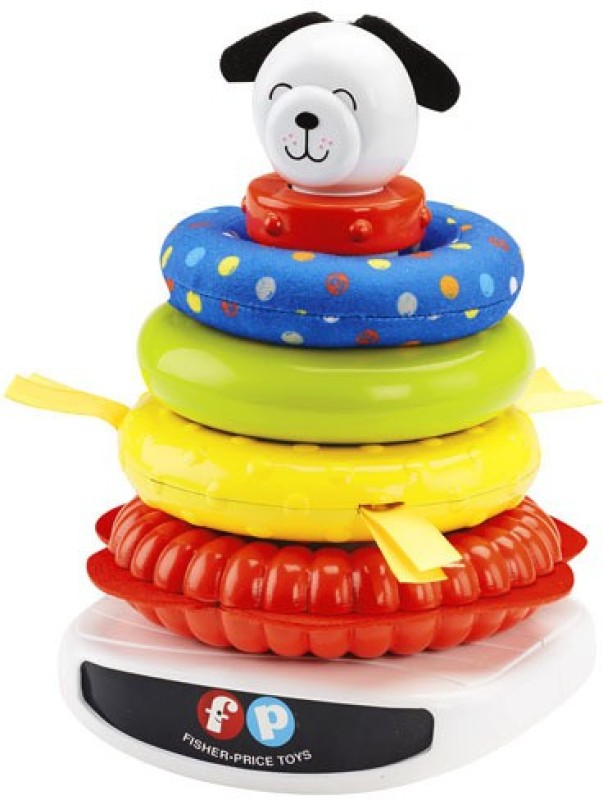 Fisher Price Roly-Poly Rock-a-Stack(Multicolor)
