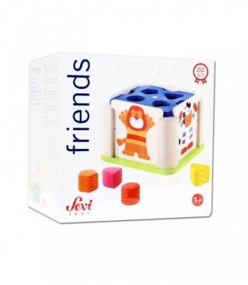 Sevi Sevi Sorting Cube Animals