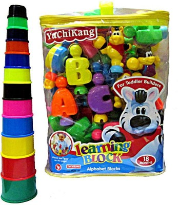V.T. Alphabet Learning Blocks with Stacking Tower