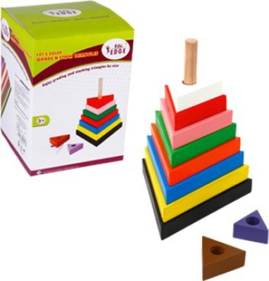 Eduedge Let's Solve - Grade N Stack Triangle(Multicolor)