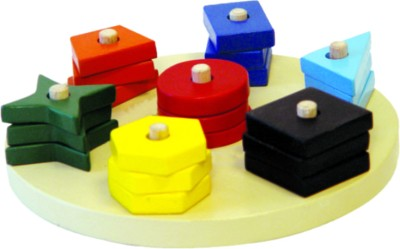 Kinder Creative Sorting Shapes and Colors