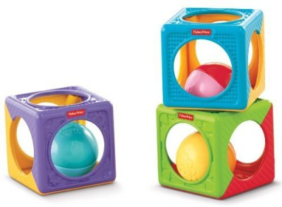 Fisher-Price Easy Stack ,n Sounds Blocks