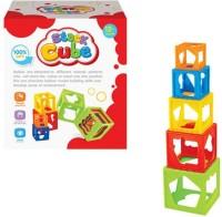 Vaibhav MultiColor Stack Cube - SL83508(Multicolor)