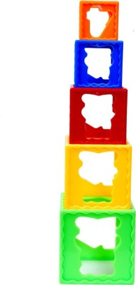 Montez Stack Cube Play Learn Fun