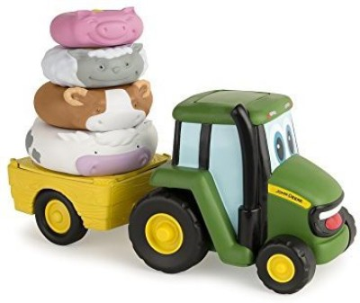 Tomy John Deere Farm Stackers Toy(Multicolor)