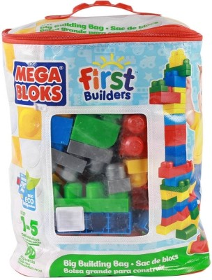 Mega Bloks Mega Bloks Big Building Bag - 80 Pieces