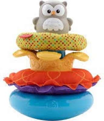 Fisher-Price Owls Nest Stacker(Multicolor)