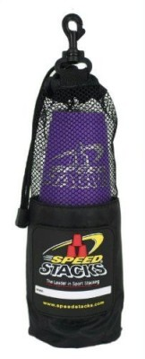 Play Along Speed Stacks Competition Cups Purple with Purple Bag(Purple)