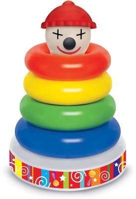 Funworld Musical Joker Stacking Ring(Multicolor)