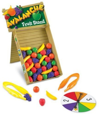 Learning Resources Avalanche Fruit Stand Game(Multicolor)