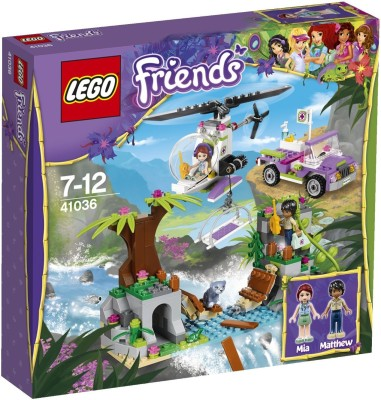 LEGO Friends pounding Jungle River