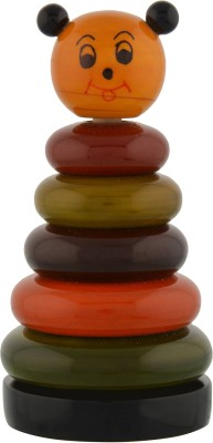 Anuradha Wooden Joker Ring(Multicolor)