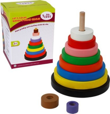 Eduedge Let's Solve - Grade N Stack Circle(Multicolor)