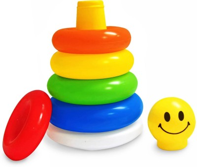 Abee Cute Smiley Design Ring Toy