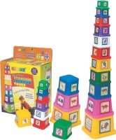 Girnar Stacking Tower(Multicolor)