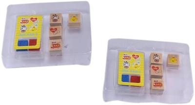 Saamarth Impex NA2 6000 Impressions Plastic Mini Stamp With 2 Ink Pad