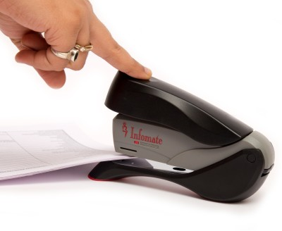 Infomate Mannual 26-6 No Remover Staplers(Set of 0, Black)