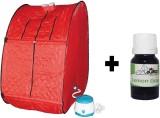 Linco LSL Portable Steam Sauna Bath (Red...