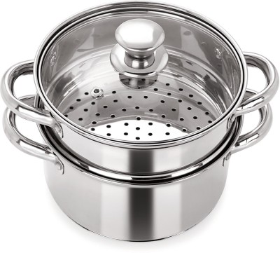 Pristine Multipurpose Induction Base Stainless Steel Steamer(1 L)