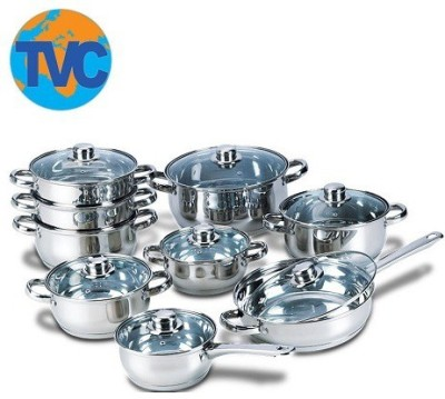 Tvc Cook N Serve Silver Plated Steamer(4.5 L)