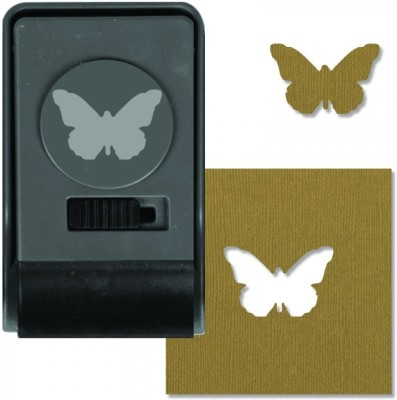 SIZZIX Paper Punch - Butterfly, Large 660159 Decorative Stencil
