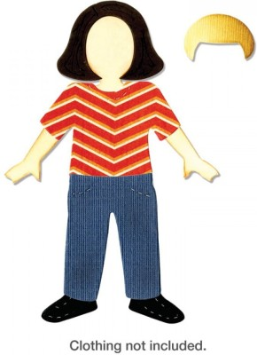 Sizzix Bigz Die - Boy or Girl Figure A10325 Die Stencil