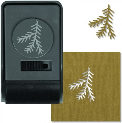 SIZZIX Paper Punch - Pine, Large 660170 Decorative Stencil