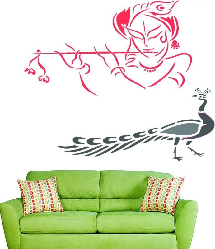 Lashkara KP1 Krishna Stencil(Pack of 2, Krisna)