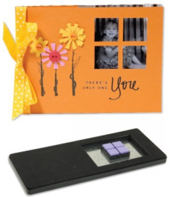 Sizzix Movers & Shapers XL Die Set - Card, Horizontal A2 & Four Window Panes (Kit #1) 654780 Die Stencil