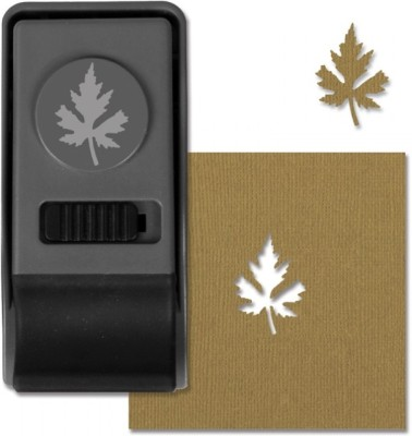 SIZZIX Paper Punch - Maple Leaf, Medium 660166 Decorative Stencil