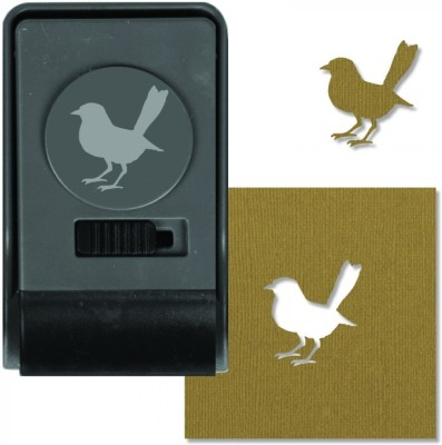SIZZIX Paper Punch - Bird, Large 660168 Decorative Stencil